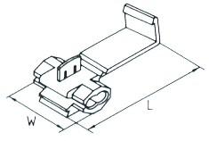 Késes Leágaztató  0.5 ~ 1.5mm2 (min. 100 db rendelhető)